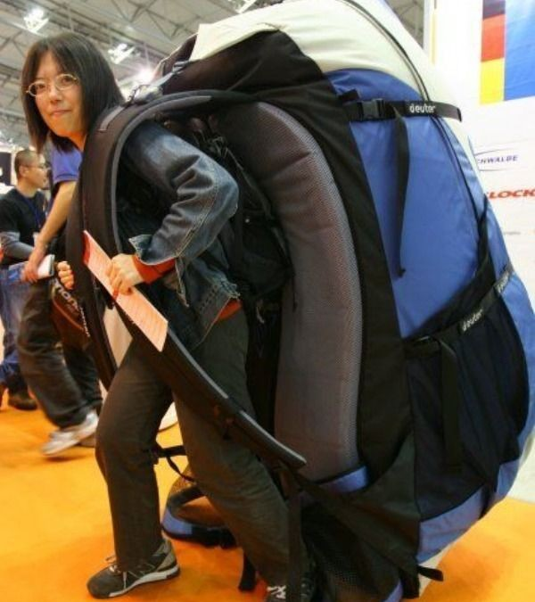 The Backpack Analogy
