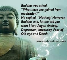 buddah on meditation